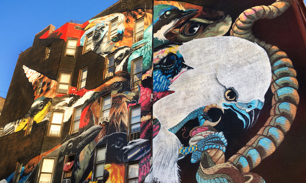 Street Artists and Muralists to Paint All 314 Threatened North American Birds