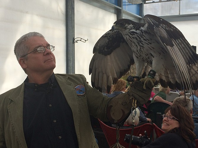 Arizona's Raptor Experience teaches attracting birds into the landscape