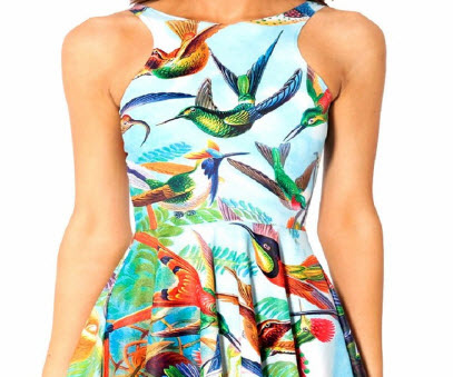 Hummingbird Party Dress