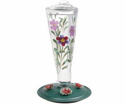 Birdscapes Glass Feeder