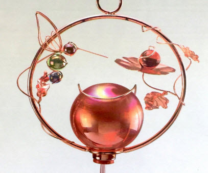 Copper Colored Feeder