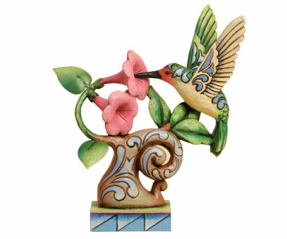 Enesco Hummingbird Figurine