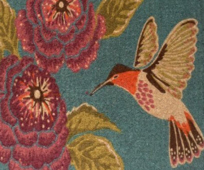 Hummingbird Rugs Hummingbirds Plus