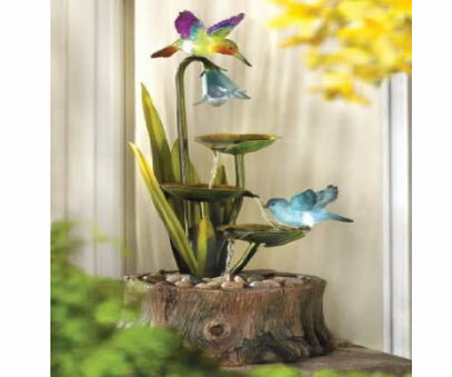 Gift Hummingbird Fountain