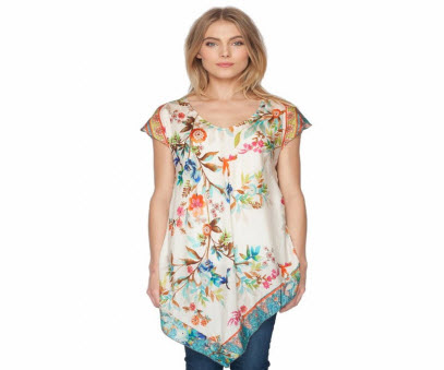 Silk Hummingbird Tunic
