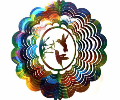 Hummingbird Wind Spinner