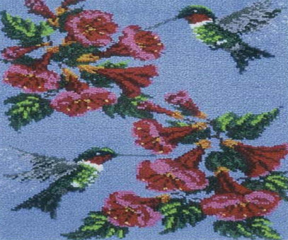 Hummingbird Rug Kit