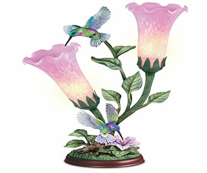 Hummingbird Sculpture Lamp