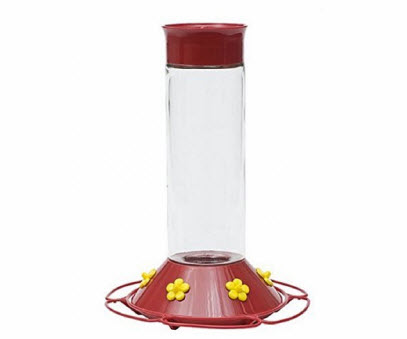 Top Glass Hummingbird Feeder