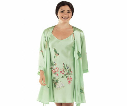 Hummingbird Robe Set