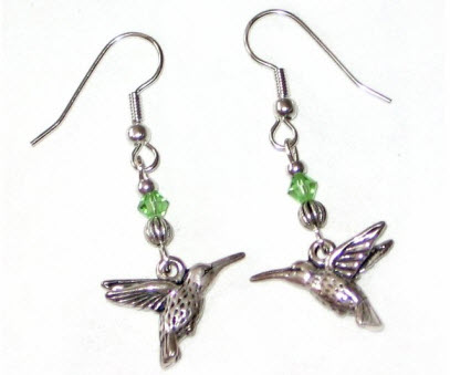 Silver Plated Hook Earrings