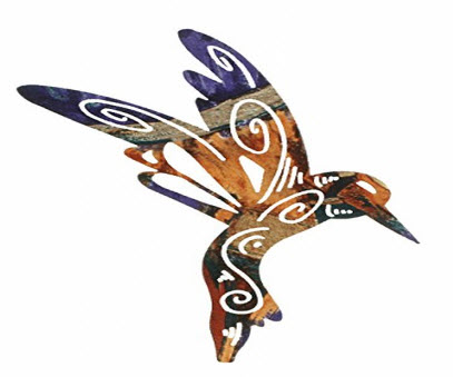Magic Hummingbird Wall Art