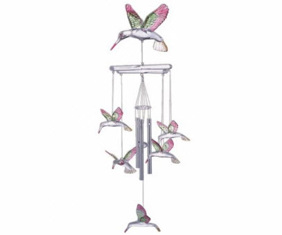 Hanging Garden Hummingbird Wind Chimes