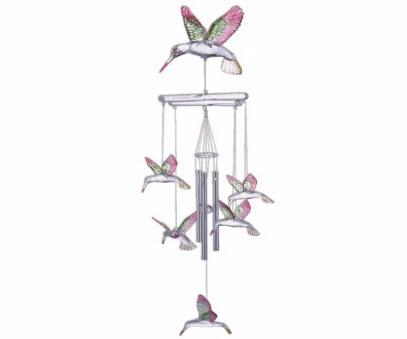 Hanging Garden Hummingbird Wind Chimes