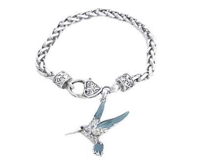 Hummingbird Crystals Bracelet