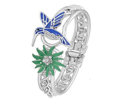 PANGRUI Exquisite Hummingbird Bracelet Crystal