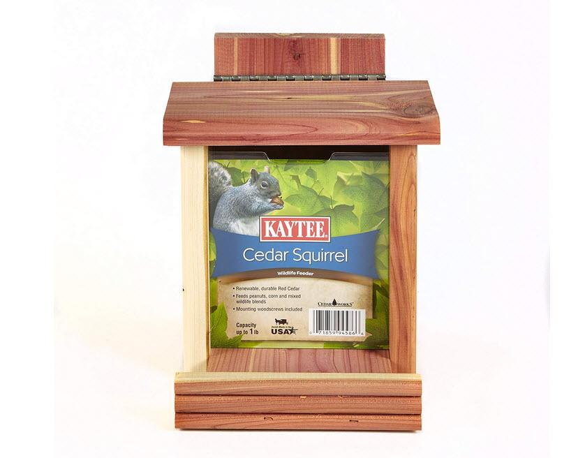 Kaytee Cedar Feeder