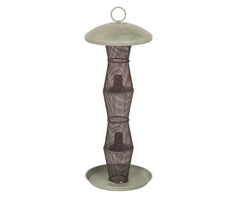Perky-Pet No/No Green and Black Finch Feeder