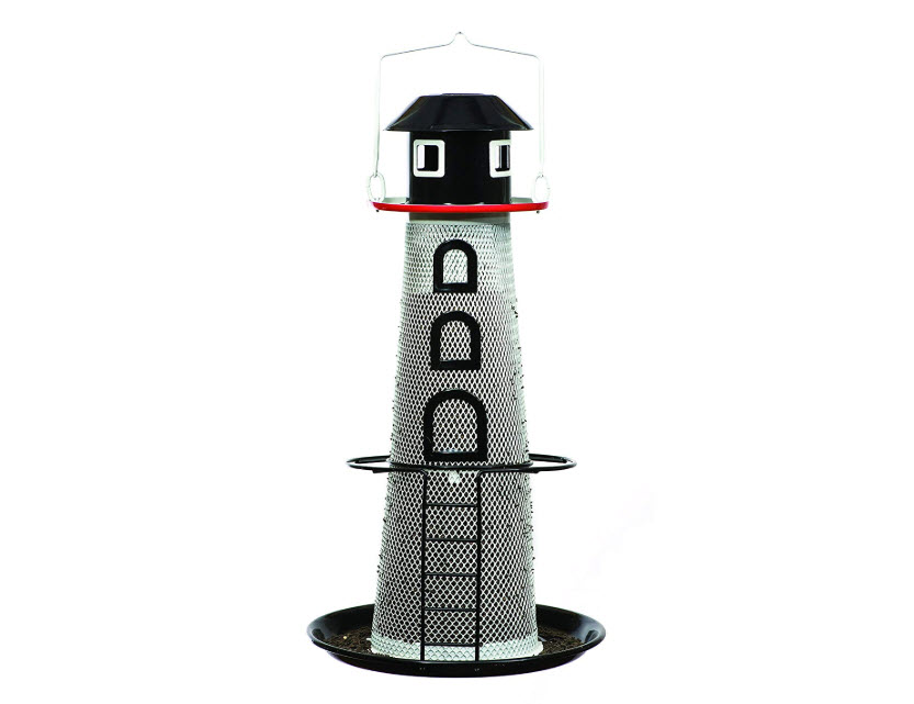 Perky-Pet LH00355 Solar Lighthouse Finch Bird Feeder