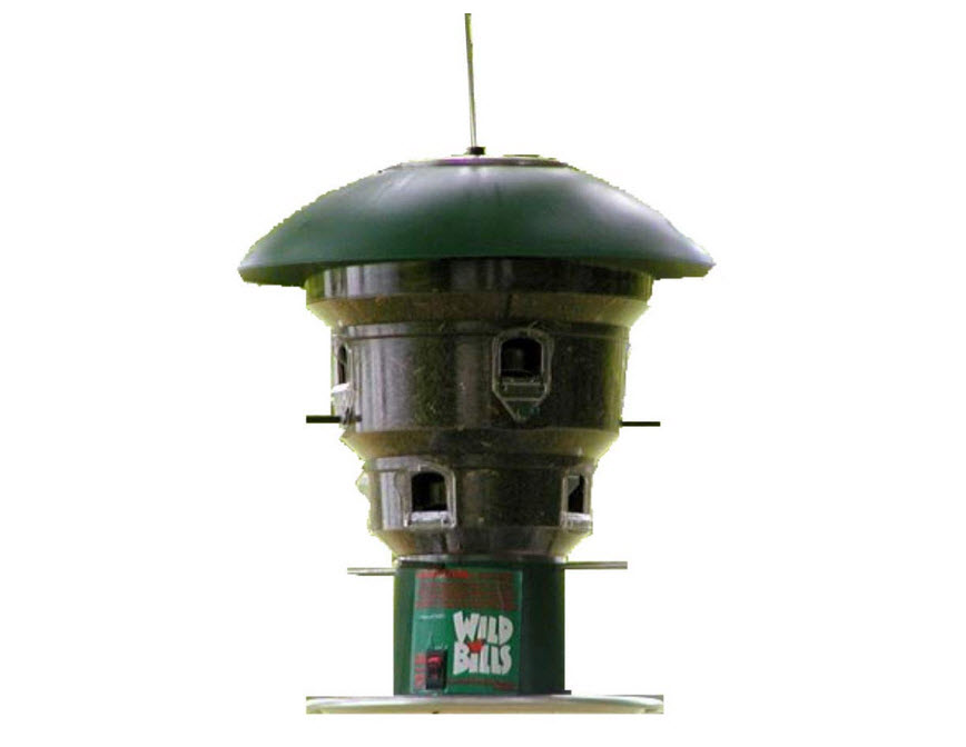 Wild Bill's 8 Station Squirrel-Proof Bird Feeder
