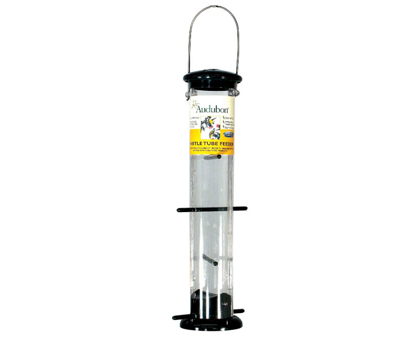 Woodlink NATUBE9 Audubon Plastic 8 Port Thistle Finch Feeder