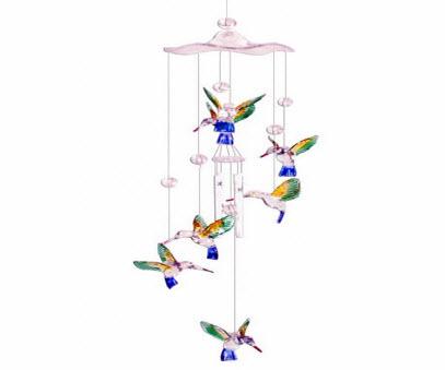 Hummingbird Wind Chimes - Hummingbirds Plus